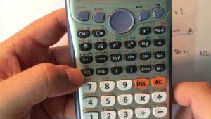 CASIO Hướng dẫn một số tính năng của máy tính casio fx 570 vn plus