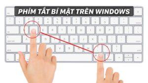 Thủ thuật máy tính: 8 phím tắt bí mật trên Windows cực hay
