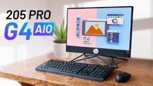 Đánh giá máy tính đồng bộ HP All In One 205 Pro G4: cực kỳ gọn gàng, phù hợp cho văn phòng