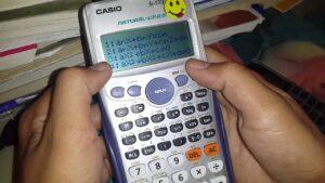 Cách giải phương trình bậc 2 nhanh đối với các máy tính CASIO  FX-570