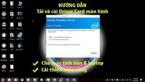 Cách cài driver card màn hình Intel HD Graphics cho máy tính | Install Intel HD Graphics Driver