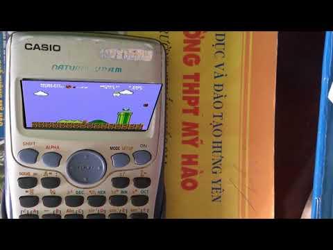 Hướng dẫn chơi Mario trên máy tính casio cực chất