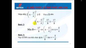 TÌM GTLN – GTNN LỚP 9 BẰNG MÁY TÍNH CASIO fx-570VN PLUS – PHẦN 1