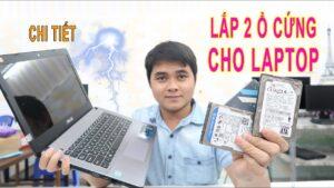 Hướng dẫn lắp 2 ổ cứng ssd hdd cho máy tính laptop   Cách lắp thêm ổ cứng cho laptop bằng caddy bay