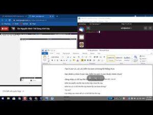 Học Online .Lần Đầu Tiên Học Các Câu Lệnh .từ máy tính