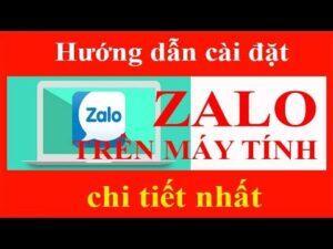Hướng dẫn cài đặt và sử dụng Zalo trên máy tính,chi tiết zalo trên pc fl Nội Thất Maria Đặng Nga