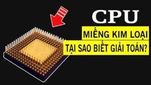 CPU tính toán thế nào khi chỉ là cục sắt vô tri vô giác?