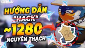 """HOT! Hướng Dẫn """"hack"""" tới 1280 Nguyên Thạch từ Ấm Trần Ca, Tính Năng Vào Ở Genshin Impact 1.6!"""