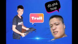 QuangBin Vlog : Troll Đập Gẫy Bàn Phím Máy Tính Xem Phản Ứng Anh Trai Xem Sao Và CáI kết