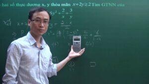 Sử dụng máy tính Casio tìm giá trị lớn nhất nhỏ nhất – Bất đẳng thức Cô si AM GM – toán lớp 9