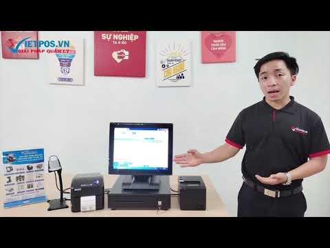 Bộ Máy tính tiền POS cảm ứng Easy J1900C 644G