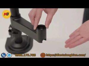 Hướng dẫn lắp đặt giá treo màn hình máy tính NB H80 và NB H100