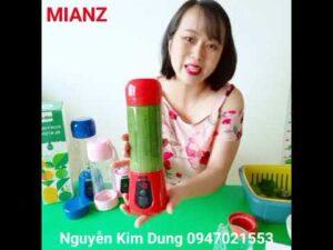 Cách dùng máy xay sinh tố cầm tay 6 lưỡi MIANZ – 0947021553