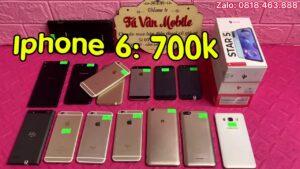 Iphone 6: 700k, máy tính bảng: 800k và nhiều điện thoại chất lượng giá rẻ ngày 14/6/21.