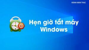 Cách hẹn giờ tắt máy tính trên Win 10 không cần phần mềm | KKT