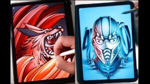 Vẽ tranh nghệ thuật siêu hay, đẹp mắt trên máy tính bảng