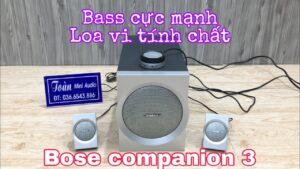 Bose companion 3 – Loa vi tính cực chất – Bluetooth – Giá 3TR7 – LH 036.6543.886