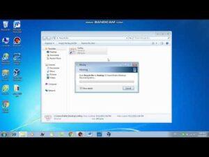 Cách khôi phục dữ liệu để trong thùng rác máy tính, laptop win 7