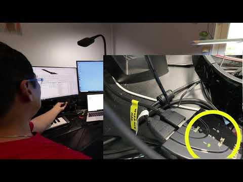 Cách dùng 2 máy tính với 3 màn hình. How to setup 2 computers to use with 3 monitors.
