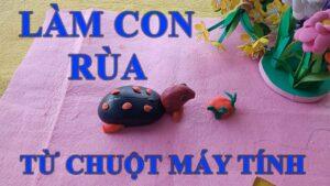 Hướng dẫn cách làm con rùa bằng chuột máy tính Minh Lộc Vlogs #236