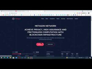 Claim 10 token METAGON mạng BSC  máy tính  Ví Trustwallet, MetaMask Phí 0,0003 BNB