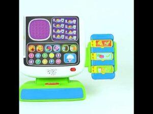 [Đồ Chơi Cho Bé] Bộ đồ chơi giáo dục sớm: máy tính tiền tự động Winfun 2515 kích thích bé phát triển