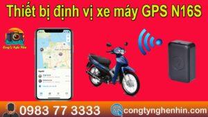 Thiết bị định vị xe máy GPS N16S – định vị cực kì chuẩn xác nghe nén âm thanh cực rõ